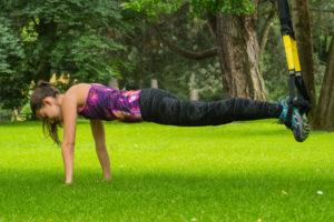 TRX Übung Plank | © Manuela Luisa Meusburger