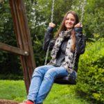 Schaukeln am Spielplatz - im Leben gehts um die richtige Balance!