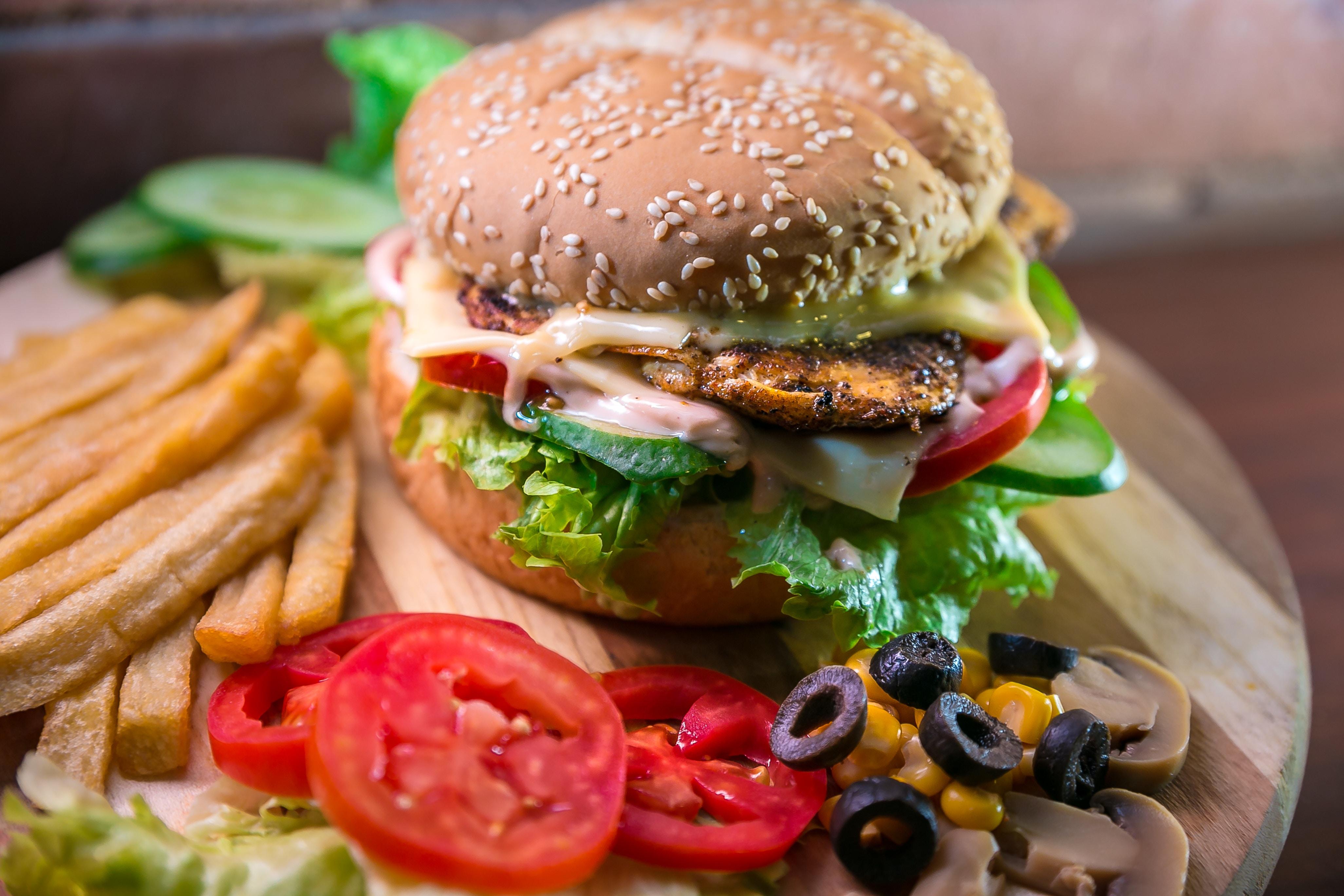 80   10   10 Regel - gesundes Essen und ungesundes Essen
